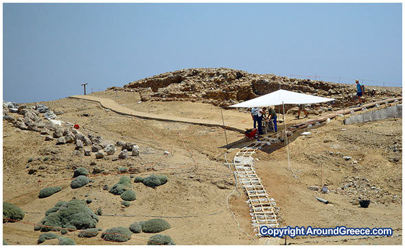 The archaeological site of Palamari